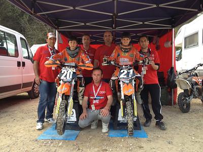1° prova campionato italiano MX 65 -Ponte a Egola