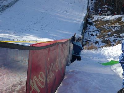 Snowflake Ski Jump