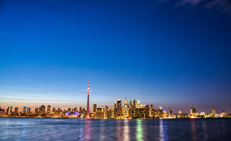 Beautiful Toronto at Night