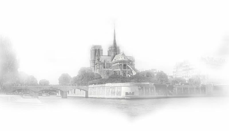 Notre Dame in Fog.