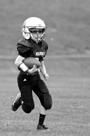 Willow Street Wolverines D v. Mountville 10.12.13 (Black and White)