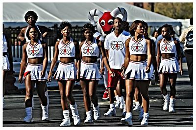 WSSU Cheerleaders 2010 HDR