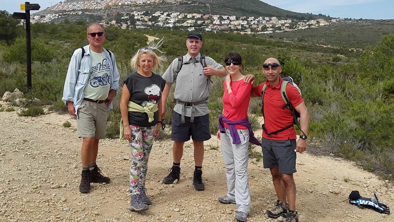 Saturday morning hike Granadella