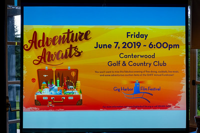 Gig Harbor Film Festival ~ Auction 2019