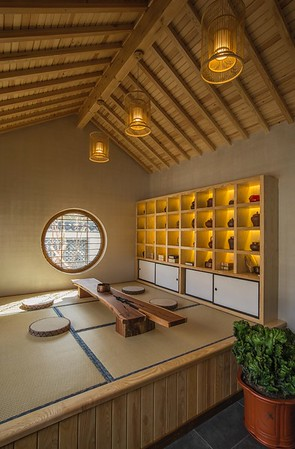 Guotai Wood Courtyard 国泰木结构木屋