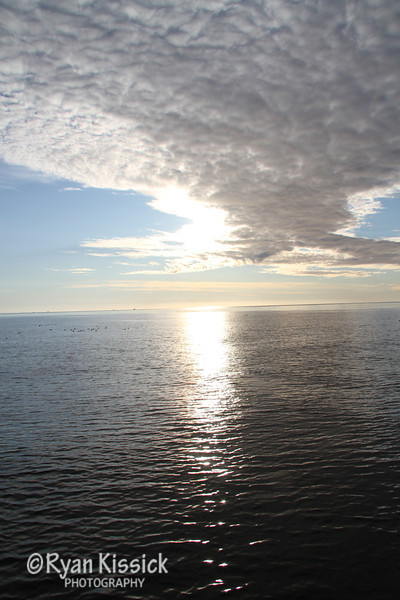 Sunrise in the Queen Charlotte Islands