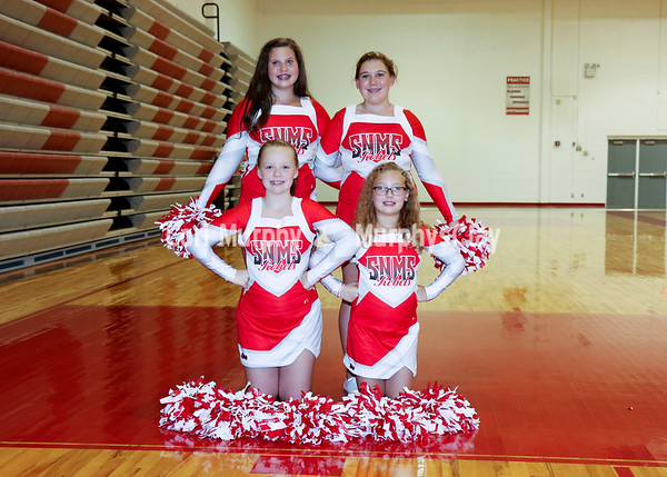 SNMS Fall Cheerleading 2016