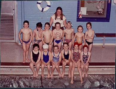 BROCKTON YMCA SWIMMING LATE 1970'S