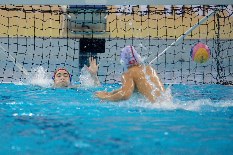 Players in action against Hongkong Vs Chinese Taipei at OCBC Aquatic Centre  at Singapore on 12th oct 2019. Photo by Sanketa Anand/Sport Singapore