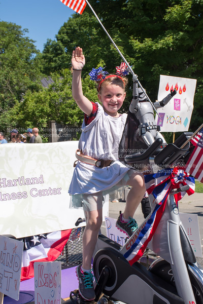 Hartland Vt. 4th of July Parade