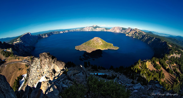 Crater Lake, Oregon Coast