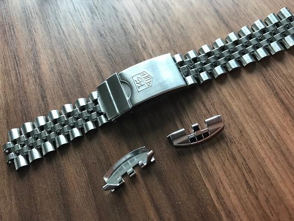 BRAC 15 - Tag Heuer Jubilee Diver  Bracelet