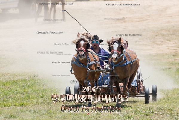 "2016 East of The Mississippi Chuckwagon Races,  Saturday 52"" Ponies"