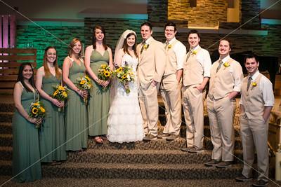 Mallory & Kyle • Wedding Party Portraits