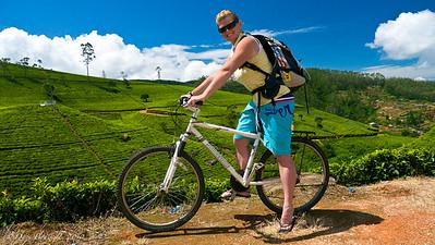 MountainBiking in  Sri Lanka...sort of