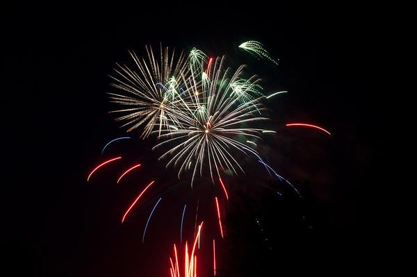 Coney Island Fireworks 3Jul11