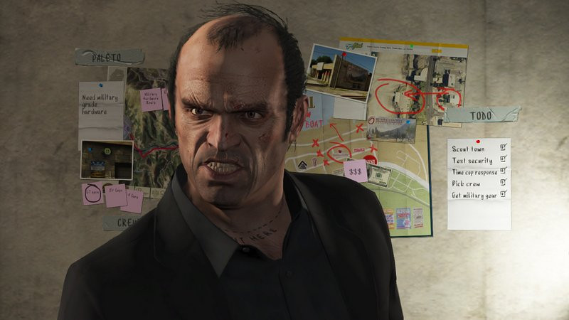 """. <p><b> This new video game sequel, filled with criminality, prostitution and murder, made history when it reached $1 billion of sales in its first three days on the market � </b> <p> A. Grand Theft Auto V  <p> B. Postal 3  <p> C. New England Patriots 2012  <p><b><a href=\'http://www.forbes.com/sites/alexmorrell/2013/09/23/carl-icahns-bet-on-grand-theft-auto-v-paying-off-as-sales-top-1-billion/\' target=\""""_blank\"""">HUH?</a></b> <p>    (AP Photo/Rockstar Games)"""