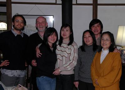 YANG FAMILY DINNER - 22 DEC 2009