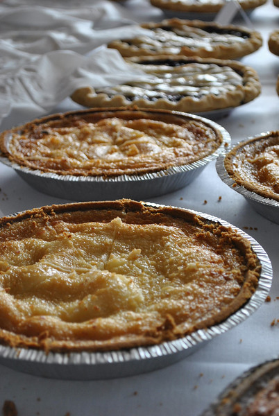 Homemade pies.