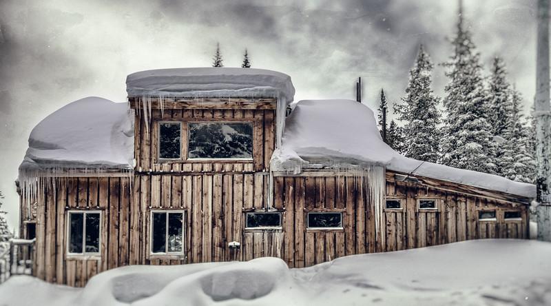 Polar Star Hut Trip 013016 - 020116