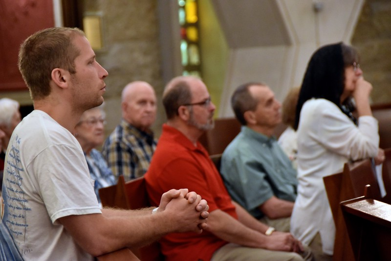 At prayer