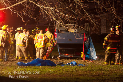 12-14-2011, Fatal MVC, with Entrapment, Franklin Twp. Gloucester County, Main Rd. IAO Dutch Mill Rd.