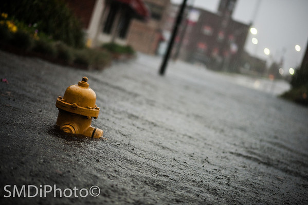 Hurricane Sandy in Downtown Salisbury