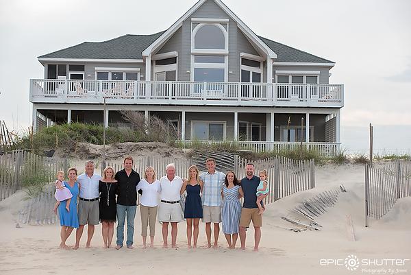 Family Portraits, Avon, Hatteras Island, North Carolina, Cape Hatteras National Seashore, Family Photos, Epic Shutter Photography