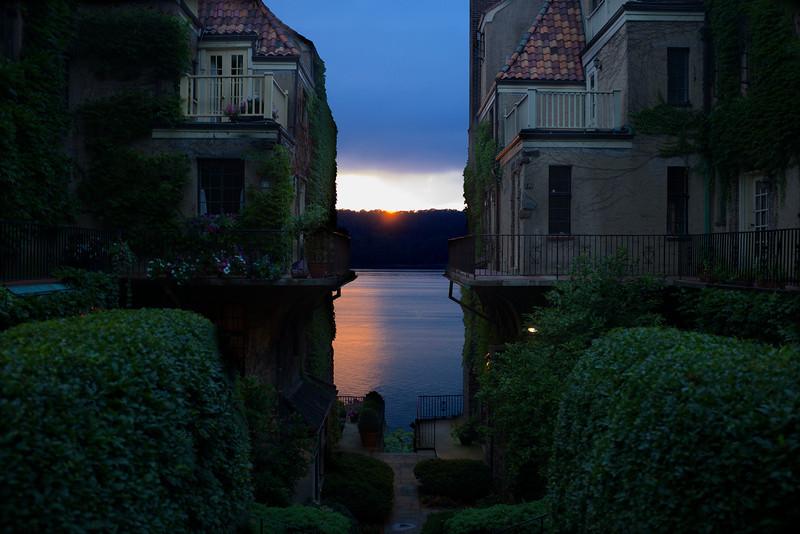 Charlotte-bronte-villa-sunset