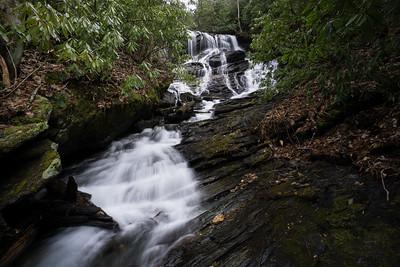 Upper Waterfall on Denton Creek