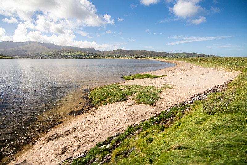 Cloghane Estuary and Brandon Mountain