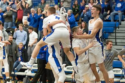 OW Boys Basketball vs Oshkosh North