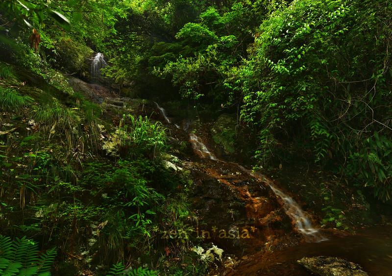 hidden falls of Lishui 丽水