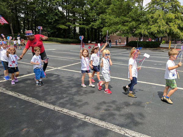 TCS  and Chastain 4th of July Parades