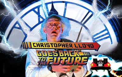 Christopher Lloyd Goes Back to the Future