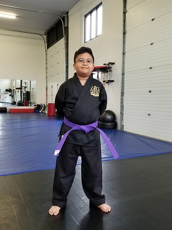 2018-09-08_Tre's Purple Belt Testing
