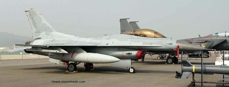 93-067 General Dynamics KF-16C Fighting Falcon Republic of Korea Air Force