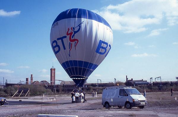 BT Hot Air Balloon Flight April 1995