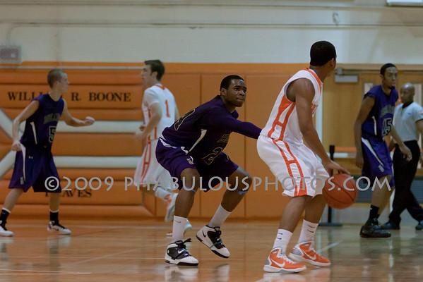 Winter Springs @ Boone Boys Varsity Basketball - 2010