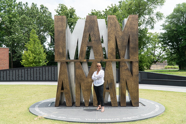 Momma Evelyn visits NCRM