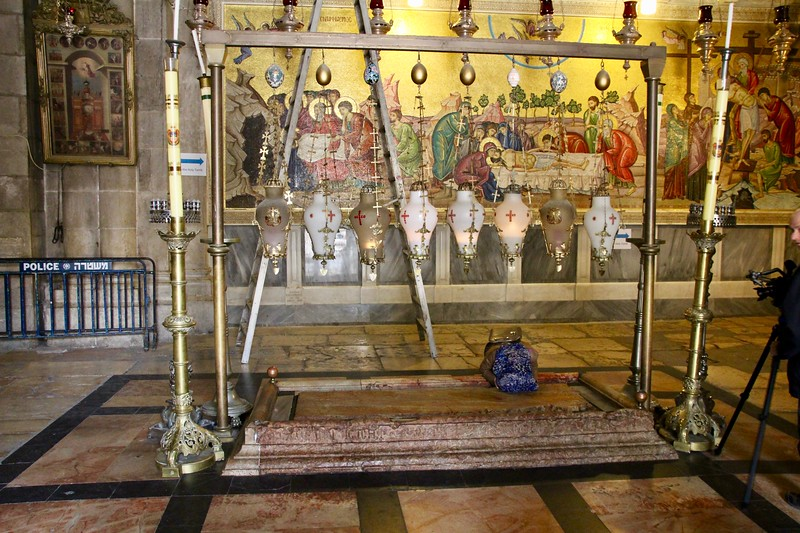 Church of the Holy Sepulchre - Anointing Stone
