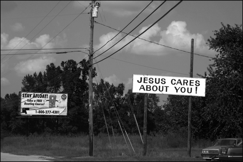 Jesus cares about sign