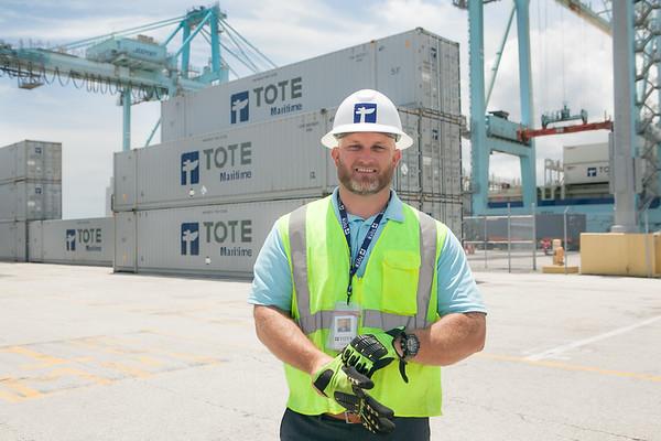 Bradley Bishop, TOTE Maritime, Jacksonville, Florida