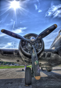 """The Memphis Belle - B-17 """"Flying Fortress"""""""