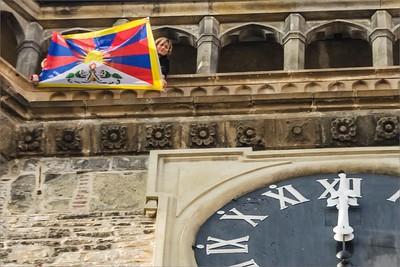 """Activists """"Vlajka pro Tibet"""" 2015"""