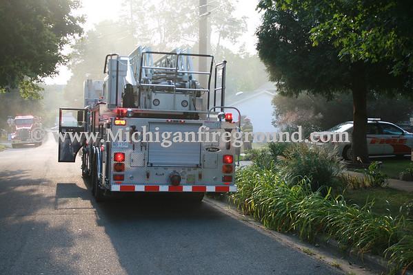 8/29/10 - Mason car fire, 511 Center St.