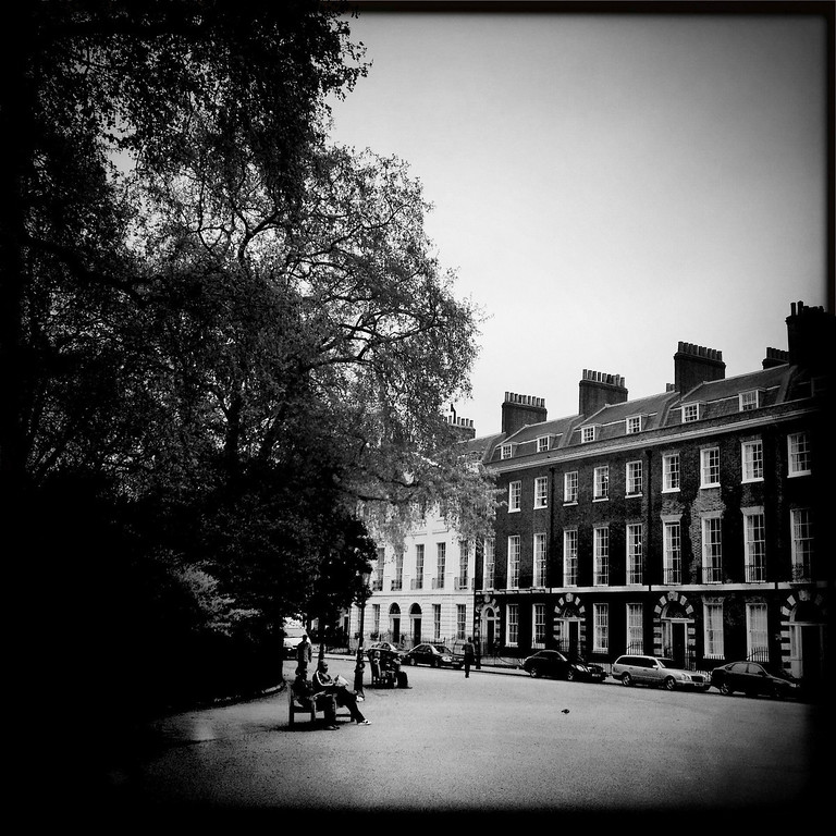 . A general view of Berkeley Square on May 2, 2012 in London, England. (Photo by Vittorio Zunino Celotto/Getty Images)