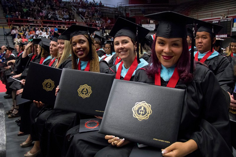 Graduate Students Commencement May 2017