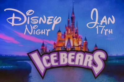 Ice Bears (4) v Roanoke (1) 1-17-20 Disney Night