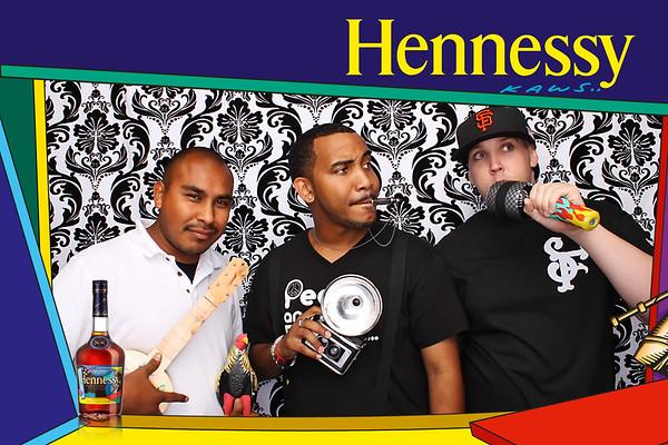 KAWS Hennessy Event @ Ambassador Lounge 9.23.11